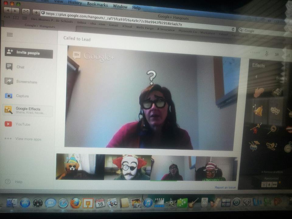 Fun w Google Hangouts