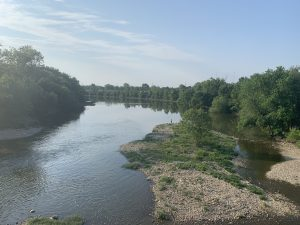 Panoramic View of River / Trees